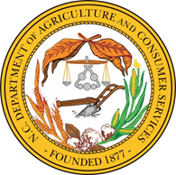 Logo for the North Carolina Department of Agriculture & Consumer Services